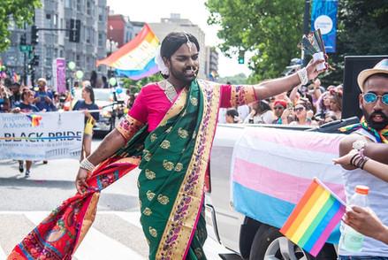 Kamani at Pride DC