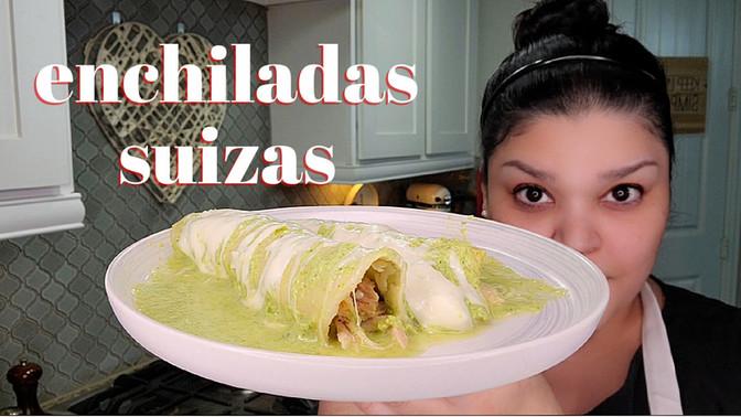 Baked Enchiladas Suizas