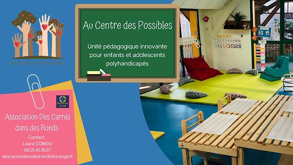 Au Centre des Possibles Unité pédagogiqu