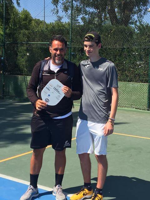"Spanish Openissa ""Finnish Trophy"" -kiertopalkinto Carlos Perezille"