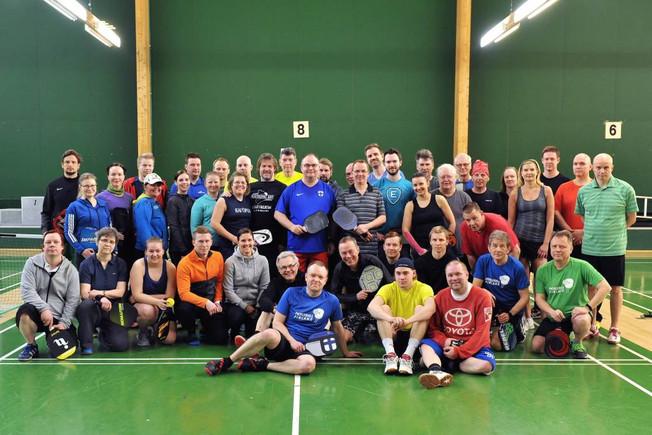 Spring Games 2018 toiseksi suurin pickleball-turnaus Suomessa