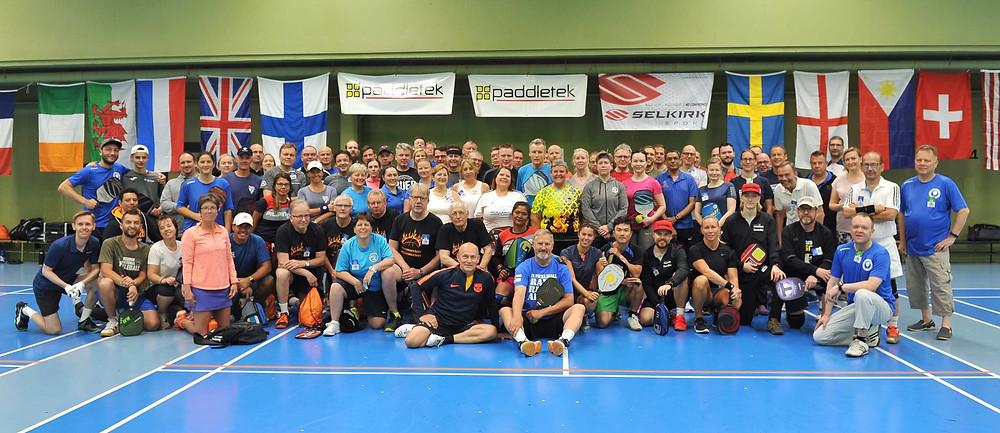 Pickleball Finnish Open 2019 osallistujat