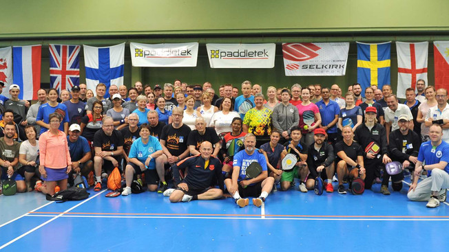 Pickleball Finnish Open 2019 – 8 maata, 12 kansallisuutta