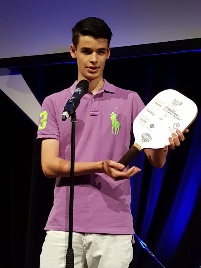 """Finnish Trophy"" -kiertopalkinto Sam Basfordille"
