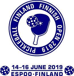 Tournament logo Finnish Open 2019 blue s