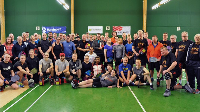 Pickleball Finland Xmas Games kasvoi taas edellisvuodesta