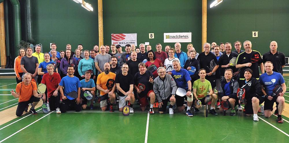Pickleball Finland Xmas Games 2018:n osallistujat
