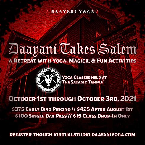 Daayani Takes Salem 2021