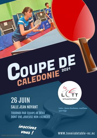Coupe de Calédonie : 26 Juin 2021 - Tournoi par équipe avec une non licenciée !