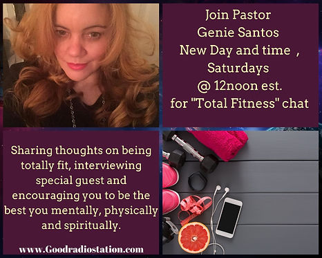 Join Pastor Genie Santos Thursday ,Octob
