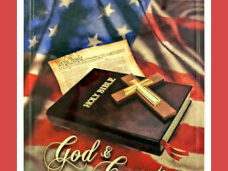 God bless our Nation. We are one Nation under God . We are one station under God !