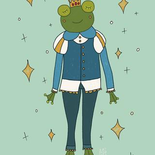 Frog Prince Flyer Graphic Design