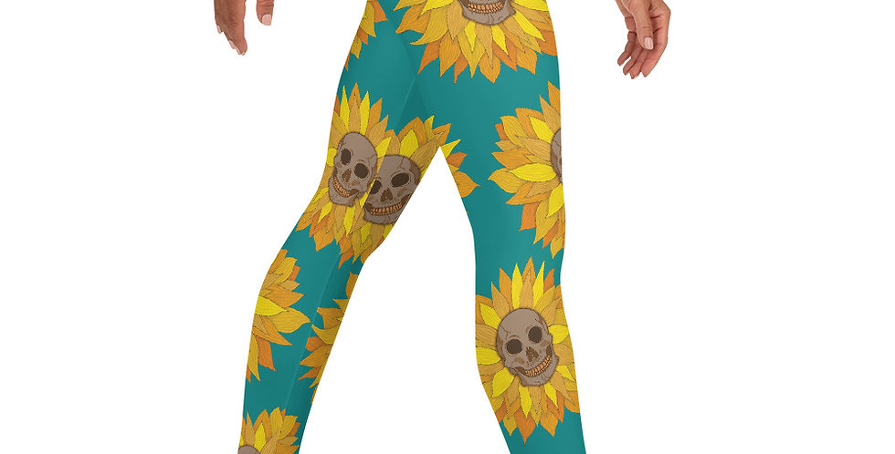 Skullflower Leggings