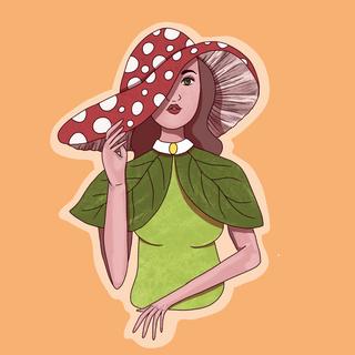 Mushroom Lady