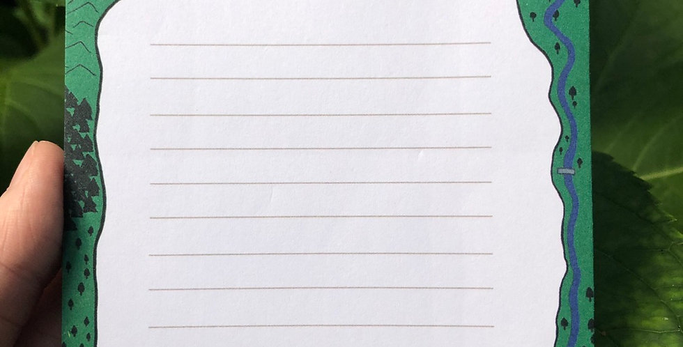 Stardew Valley Farm Notes Memo Pad