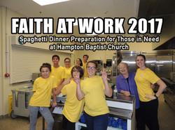 Faith at work 2017