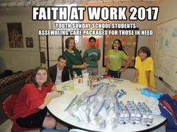 Faith at Work 2017 Manna Bags