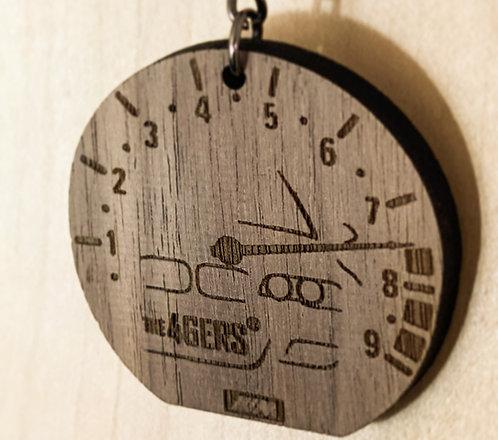 THE46ERS REDLINE Wooden Keychain