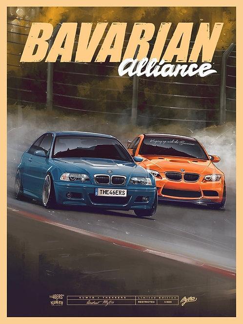 BAVARIAN ALLIANCE Collab Poster