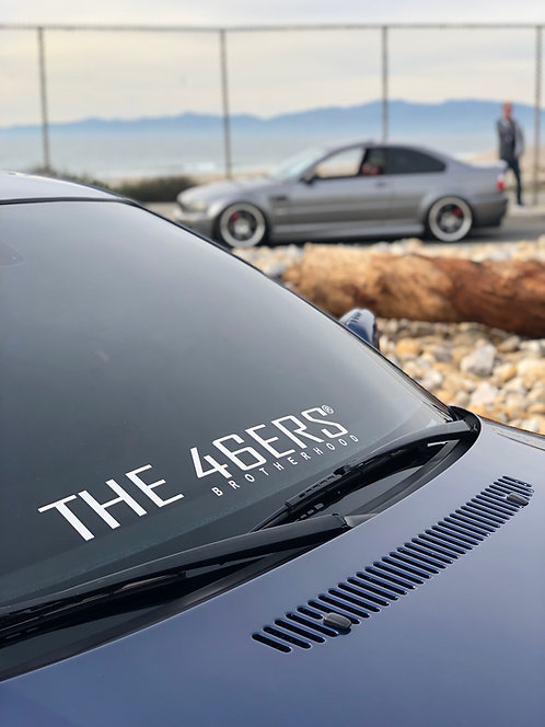 THE 46ERS Official Large Windshield Decal