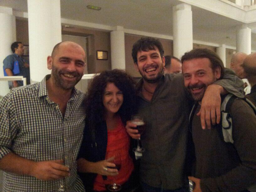 Con Tontxu, Paco Cifuentes y Chaouen