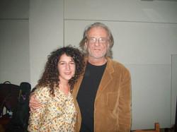 Con Luis Eduardo Aute