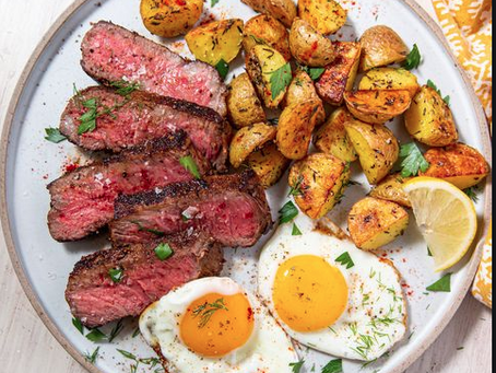 Great Recipes Series - Stake and Eggs
