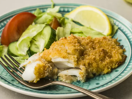 Great Recipes Series - Parmesan Crusted Baked Fish