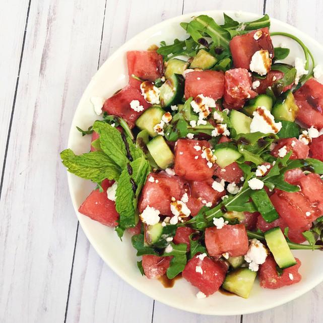 Summertime Watermelon Salad
