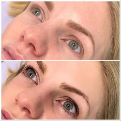 Lash enhancement after lip blush🥰 This