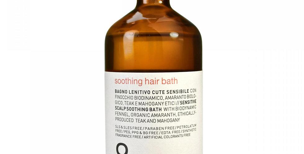 Soothing hair bath
