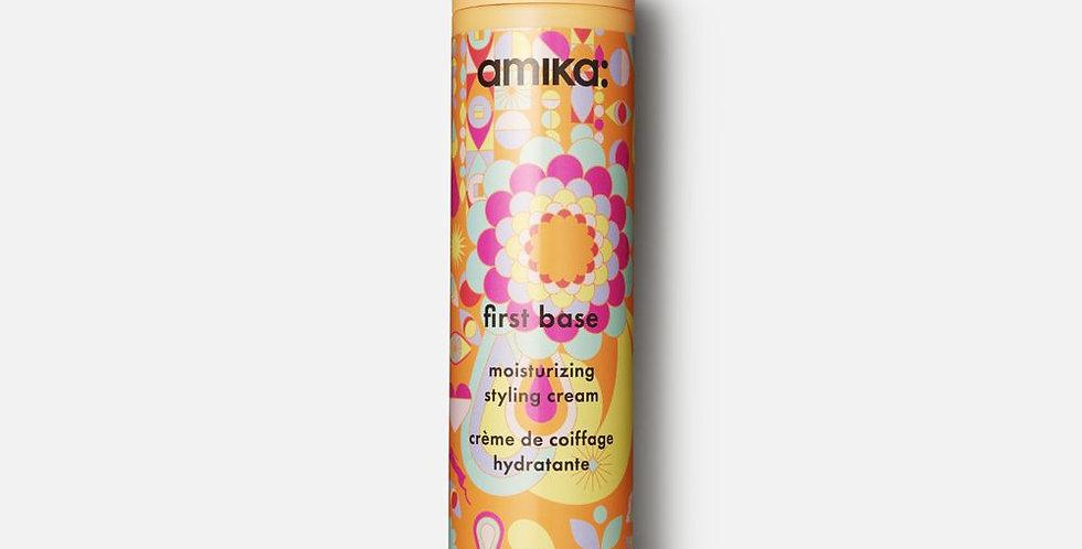 drėkinamasis formavimo kremas - AMIKA first base moisturizing styling cream
