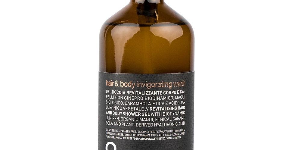 MEN hair & body invigorating wash - vyriškas šampūnas plaukams ir kūnui