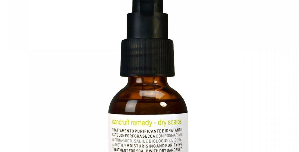 Dandruff remedy - dry scalps