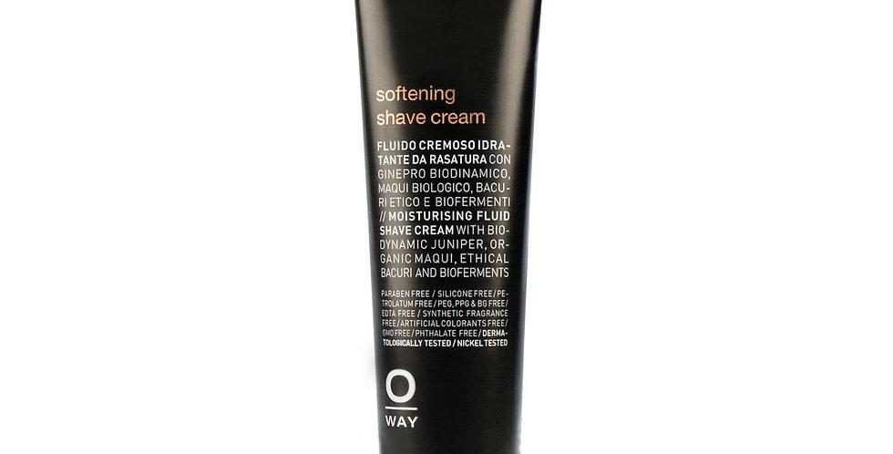 MEN softening shave cream - odą minkšrtinantis skutimosi kremas