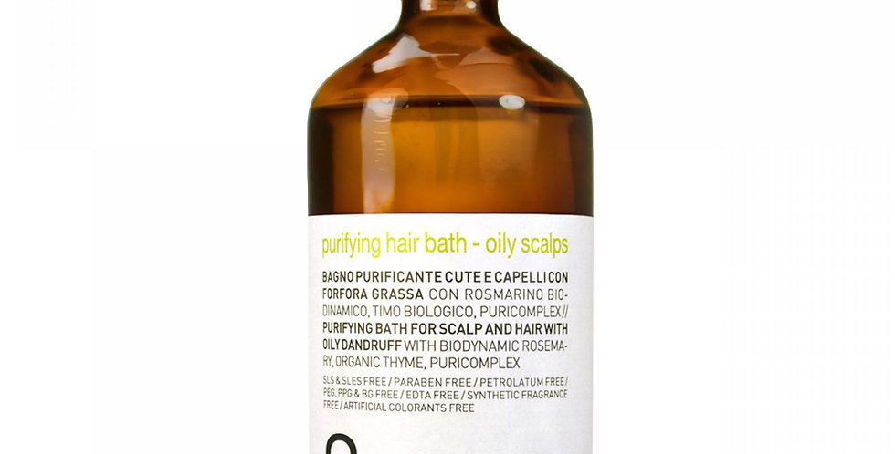 Purifying hair bath - oily scalps