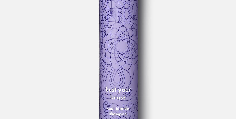 šampūnas su ulta vioteto pigmentu - AMIKA bust your brass - cool blonde shampoo