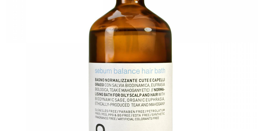 rebalancing Sebum balance hair bath