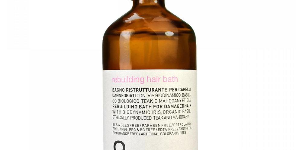 Rebuilding hair bath