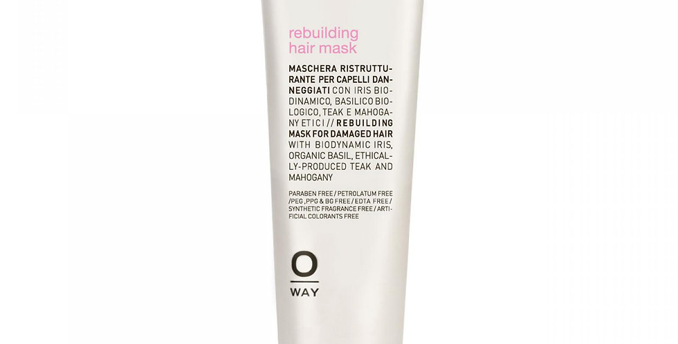 Rebuilding hair mask