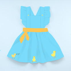 Baby Duck Pinafore