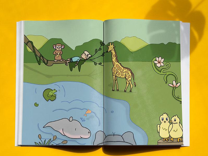 Illustrative Jungle Book
