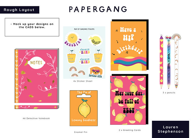 Papergang Stationary