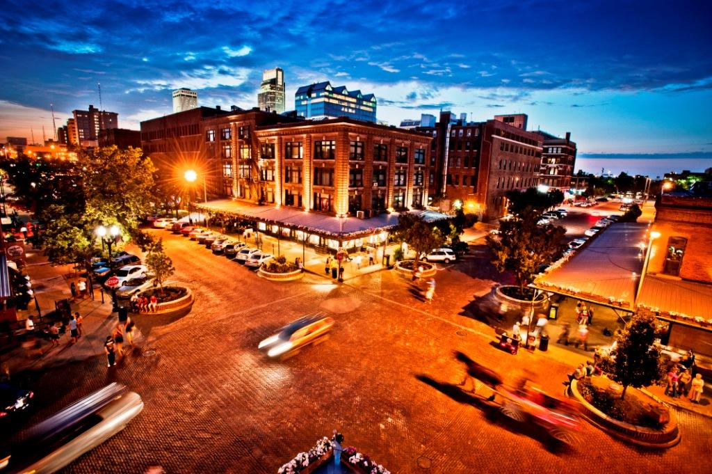 Omaha's Old Market Entertainment District