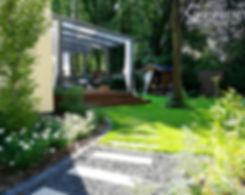 ogrod nowoczesny projekt warszawa griner