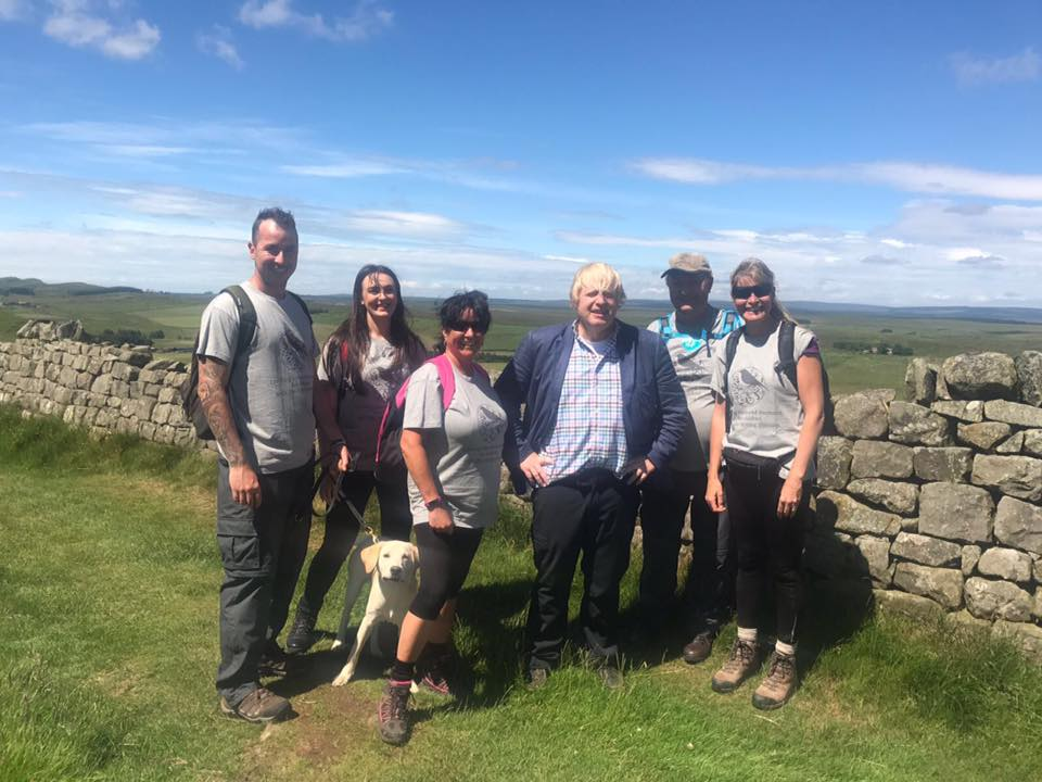 Hadrian's Wall Walk 2017