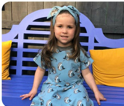 Featuring our Skater Dress & matching Hairband