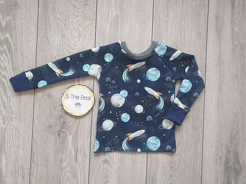 READY MADE Long Sleeved Tee Age 6-12m