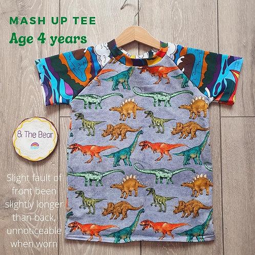 Mash-Up Tee Age 4 Years