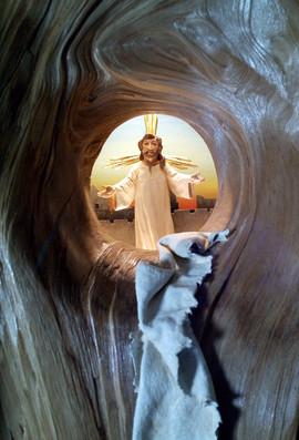 """Krippenkasten """"Jesus ist auferstanden"""""""